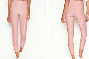 Victoria's Secret Incredible Essential Leggings Studio Sz 12 Pink. 7/8 length.
