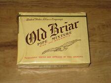 Vintage Old Briar Pipe Tobacco Package