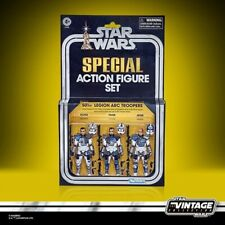 Star Wars ~ The Clone Wars ~ 501st Legion Arc Troopers ~ Exclusive ~ Preorder
