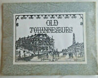 Old Johannesburg South Africa 12 Sketches of 19thC Streets Buildings Landmarks
