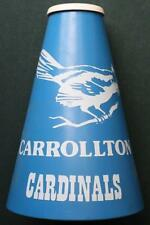 1960-70s Era Carrollton,Indiana High School Cardinals Megaphone-VINTAGE SPORTS!