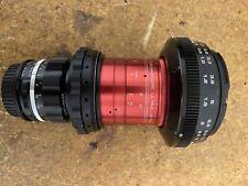 anamorphic lens ef Isco 2x With Rectilux Hardcore