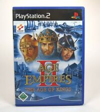 Age Of Empires II: The Age Of Kings (Sony PlayStation 2, 2002, DVD-Box) - PS2
