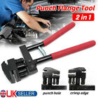 Edge Setter hand Joggler Joddler Panel Flanging 5mm Hole Punch Metal Repair UK