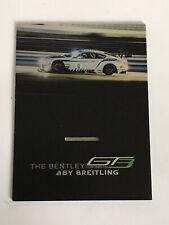 BREITLING WATCH DISPLAY CARD. BENTLEY CONTINENTAL GT3
