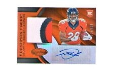 2016 Certified Denver Broncos Devontae Booker Auto Jersey Rookie Card RC #/199