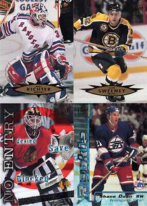 1995-96 FLEER ULTRA Complete Series 2 Set - 200 hockey cards