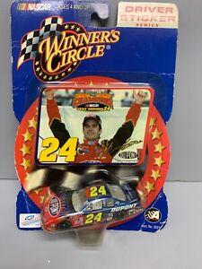 Jeff Gordon NASCAR 2001 Champion Driver Sticker 1/64 Car #24 Winners Circle New