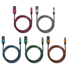 Strong Braided USB Lightning Charger Cable Lead for Samsung galaxy and Tablet