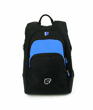 """Fusion F1 Laptop Backpack Blue -  w/15"""" Laptop Sleeve Fuse-on"""