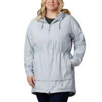 Columbia Women's Sweet Maple Jacket Plus Size blue 1X 1042a