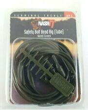 Nash tt safety bolt bead Rig Tube - carp fishing - Weed Green - fishing tackle