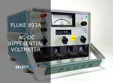 Fluke 893a Ac Dc Differential Voltmeter Look Ref G