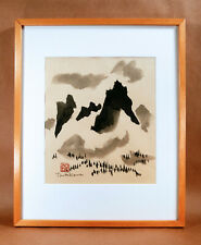 George Tsutakawa Original WA Sumi Ink Landscape Painting NW Northwest School Art