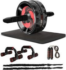 Leogreen - Ab Roller Wheel Kit, Core & Abdominal Trainers, Exercise Equirement