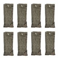 8x Lufterfrischer Schuhe Auto Kleiderschrank Bambuskohle Schuherfrischer