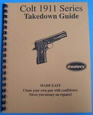 Radocy takedown guide in Color - Colt 1911