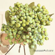 Artificial Berry Green Bean Home Decor Small Fruit Branch Decoration Faux Plant