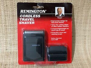 Vintage 1991 XLR-370BP Remington Cordless Travel Shaver NEW in Box