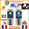 2 Ampoules LED CREE T10 W5W Blanc Xenon Canbus Anti Erreur Ampoule Veilleuse