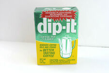 DIP-IT Vintage Coffee Pot Cleaner Distainer 5 oz Box New SEALED Package