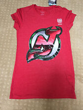 New Jersey Devils Vintage Reebok 2014 Stadium Series T-Shirt Womens - Size Large