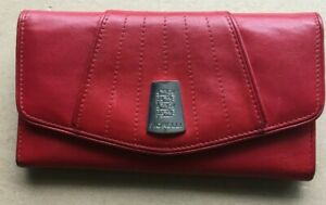 FIORELLI RED LEATHER PURSE EXCELLENT CONDITION