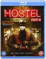 Hostel III Complete Part 3 - Thomas Kretschmann NEW SEALED BLU-RAY REGION FREE