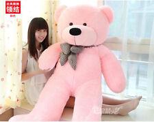 80CM/31.4in  Pink TEDDY BEAR PLUSH SOFT TOYS DOLL GIFT Stuffed Animal