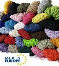 5 Meter Baumwollkordel 5mm Kordel Baumwolle Schnur Meterware viele Farben
