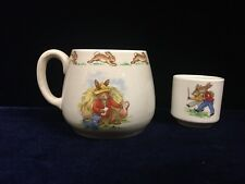 Vintage Royal Doulton Bunnykins Cup and Egg Cup