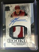 2017-18 The Cup Nick Merkley Coyotes Rookie Patch Auto /249