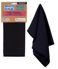 NEW White Magic Individual Eco Cloth Tea Towel Midnight