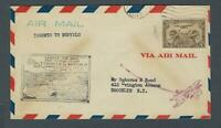 VEGAS - 1929 Canada Toronto To Buffalo First Flight Cover - EX260
