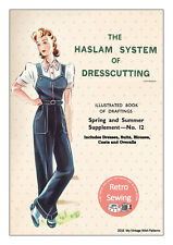 The Haslam System of Dresscutting No. 12 1940's - Copy