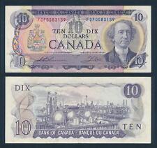[77344] Canada 1971 10 Dollars Bank Note F-VF P88e