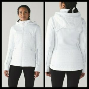 Lululemon First Mile Jacket White Size US4