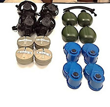 4 M-15 Survival Gas Masks Complete Upgrade Family Kit