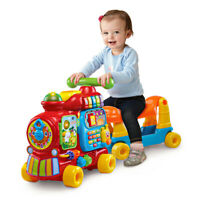 Baby Push and Ride Alphabet Train - 4-in-1 grow with me alphabet train