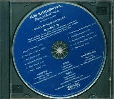 Kris Kristofferson - Starlight And Stone Promo Full Album Cd Ottimo