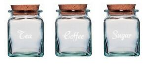 Tea Coffee Sugar jar stickers, labels for your kitchen many colours available