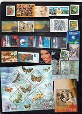 Ukraine basic year set 2005 of 60 stamps and 4 souv/sh MNH Mi.Cat. Euro 67.0