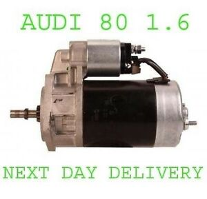 FITS AUDI 80 1.6 1980 1981 1982 1983 1984 1985 1986 REMANUFACTURED STARTER MOTOR