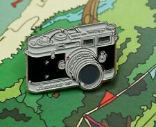 Leica M (Based On) Pin/Badge (Metal) - #Keeping Film Alive - Show your Support