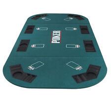 "71x35"" Portable Poker Padded Table Top Texas Holdem Game、Blackjack W/Carry Bag"