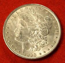1898 MORGAN DOLLAR UNC 90% SILVER LIBERTY COLLECTOR COIN CHECK OUT STORE MG247
