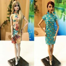 2PCS Fashion royalty Agnes eden lilith Barbie Doll Silkstone Outfits