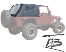 2004-2006 Jeep Wrangler Unlimited LJ Frameless Soft Top w/ Mounting Hardware Kit
