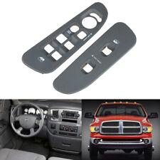 TOP QUALITY Window Door Lock Switch Bezel Panel For 02-05 Dodge Ram 1500-3500