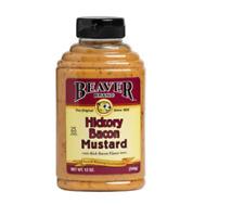Keto:  Beaver Hickory Bacon Mustard Low Carb 2 jars 12 oz (1 carb)